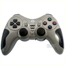Wireless Dual Shock Video Game Controller Joystick Gamepad for PS2 PS3 PS III PC