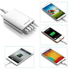 25W 5-Port USB Adapter Wall Charger For iPhone 6 Samsung 5V USB-Charged Devices