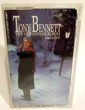 TONY BENNETT The Christmas Album (Snowfall)1968 CASSETTE TAPE-NEW/FACTORY SEALED