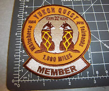 Alaska Yukon Quest 1000 mile Dog Sled Race 2015 Embroidered Patch - MEMBER