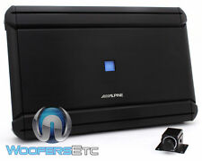 ALPINE MRV-M1200 AMP 1 CHANNEL 2400W MAX SUBWOOFERS SPEAKERS BASS AMPLIFIER NEW