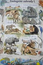 Nature Protection Zoo Czech Republic 2016 Sheet Stamps MNH