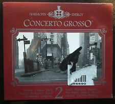 Concerto Grosso Harmony + Energy  2XCD Still Sealed 2002 EMA ED. Musicali