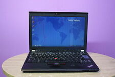 FAST Laptop Lenovo Thinkpad X220 i5 2.5GHz 4GB 320GB Windows 7 WEBCAM GRADE B+