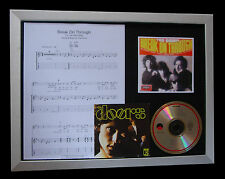 THE DOORS Break On Through LTD Nod CD MUSIC FRAMED DISPLAY+EXPRESS GLOBAL SHIP!!