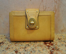 COACH Buck Skin Leather Wallet Planner Organizer with Pen $148 UNUZED with TAGS