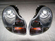 97-04 Porsche Boxster 986 99-01 996 911 Xenon Headlight Pair Headlamp OEM Light