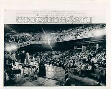 1974 Press Photo Stage View Opening Night Grand Ole Opry House 1970s Nashville