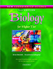 New Coordinated Science: Biology Students' Book: For Higher Tier by Brian...
