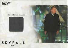 """James Bond Autographs & Relics - SSC15 """"Bond's Trousers"""" Relic Card #116/200"""