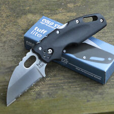 Cold Steel Tuff Lite Serrated Edge AUS 8A Folding Knife 20LTS