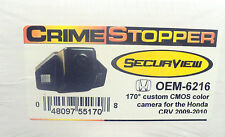 NEW Crimestopper OEM-6216 Honda CRV (2009-2010) High Sensitivity CMOS Camera