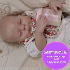 Reborn doll kit - Make your own reborn baby with Heather reborn kit ~ Unpainted