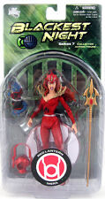 Blackest Night Series 7 RED Lantern MERA & Cat Action Figures DC Direct Toys