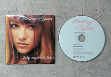 "CD AUDIO MUSIQUE / BRITNEY SPEARS ""....BABY ONE MORE TIME"" 1998 CDS 2T JIVE"