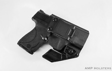 AMP Holsters: Smith & Wesson M&P Shield Appendix IWB Kydex Holster w/ RCS Claw