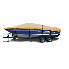 Lund 1875 Pro-V Trailerable Fishing Bass Ski Jon Boat Cover Gold