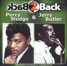 DAMAGED ARTWORK CD Percy Sledge, Jerry Butler: Back 2 Back