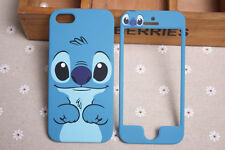 Cartoon Disney Lilo Stitch front and back case cover For Apple iPhone 4 4G 4S