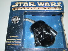 STAR WARS DARTH VADER COMPUTER MOUSE NEW old stock COLLECTABLE