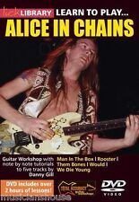 LICK LIBRARY Learn to Play ALICE IN CHAINS ROCK METAL Man in the Box Guitar DVD