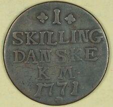 1771 Denmark 1 Skilling #1