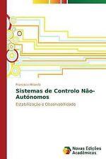 Sistemas de Controlo Nao-Autonomos by Miranda Francisco (2014, Paperback)