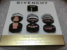 GIVENCHY GLAMOUR ON THE GO 3-Step Makeup Palette -Travel Exclusive eyes,face,lip