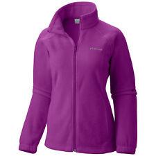 Columbia Women's Benton Springs Full Zip Fleece Jacket Plum Purple MEDIUM