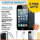 Apple iPhone 5 16 GB Black (Factory Unlocked) Smartphone Grade A