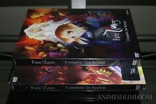 Fate/Zero Set 1 & 2 Complete Anime DVD Bundle R1 Aniplex (Low Stock!)