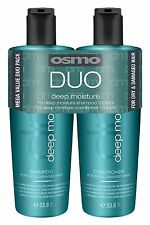 Osmo Deep Moisturising Twin Pack 1000ml Osmo Shampoo and Conditioner + pumps