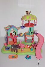 LITTLEST PET SHOP Whirl Around Playground house SWING PANDA BEACH MOTION LOT MAG
