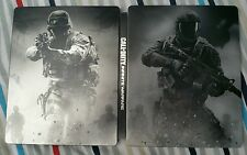 CALL OF DUTY INFINITE WARFARE RARE METAL STEELBOOK COLLECTOR CASE XBOX ONE PS4