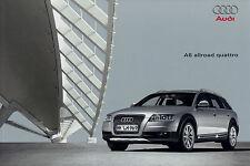 Prospekt Audi A6 allroad quattro 4/09 Autoprospekt 2009 Zubehör Auto PKWs Europa