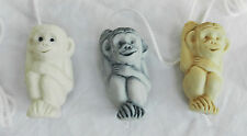 Ceramic Chimp / Chimpanzee / Monkey / Ape Cord Pull / Light Cord Pull - BNIB