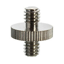 Camera 1/4'' Male to 1/4'' Male Threaded Screw Adapter For Tripod Holder Mount