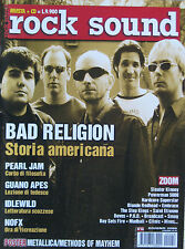 ROCKSOUND 26 2000 Bad Religion Pearl Jam Guano Apes NOFX Idlewild Blonde Redhead