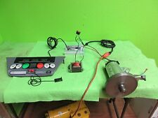 2.65 HP treadmill motor, complete setup,w/ controller, cables, many projects