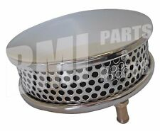 "5-1/2"" Chrome Air Cleaner Filter Motorcycle Harley Davidson Twins Keihin Bendix"