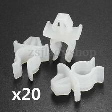 20pcs Universal Hood Prop Rod Bonnets Support Clamp Clips Holds For Nissan Truck