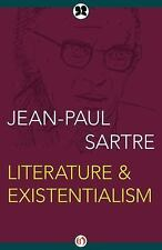 Literature and Existentialism by Jean-Paul Sartre (2016, Paperback)