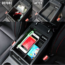 FIT FOR 2016 2017 HYUNDAI TUCSON ARMREST STORAGE BOX PALLET CENTER CONSOLE TRAY