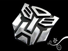Transformers Autobot 3D Logo Emblem Badge Decal Car Sticker