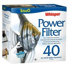 TETRA WHISPER 40 POWER FILTER 200 G.P.H.  AQUARIUMS  to 40 GALLONS  NEW