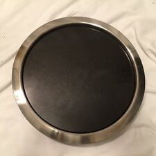 ONEIDA Stainless Steel Marble Stone Insert Cheese Serving Platter Tray HEAVYDUTY