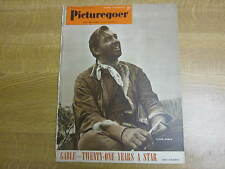 October 1951, PICTUREGOER, Clark Gable, Maureen O'Hara, Sally Forrest, C Chaplin