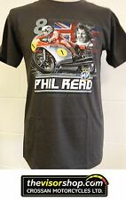 "PHIL READ MV ""8 Times Motorcycle World Champion"" T-SHIRT  - XL"