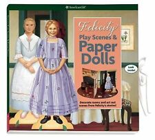 American Girl Felicity Play Scenes and Paper Dolls Kit-  NEW and Hard to Find