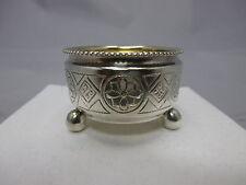 schöne kleine russische Saliere Silber 84 punziert Moskau um 1890 #2